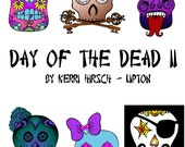 Day of the Dead 2 coloring book