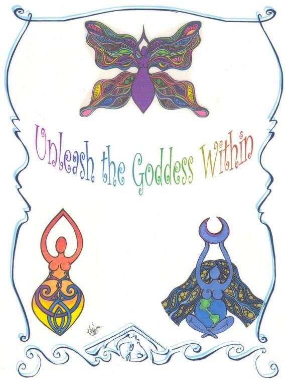 Unleash the Goddess Color packet