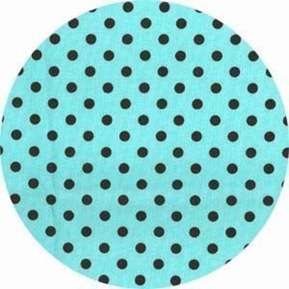 Aqua Dumb Dot - Michael Miller - MMDT09