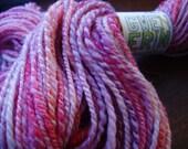 chipper -- handspun corriedale yarn