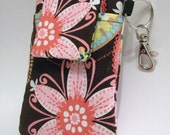 Padded Fabric iPhone Case, Droid, Samsung  Galaxy - Carnival Bloom