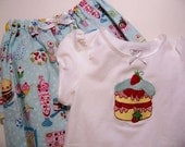 Sweet Tooth girls 2 piece Girls pant set   EtsyBABY  Designed By ChewChewsCloset