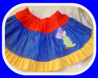 CUSTOM  Appliqued or Ruffle tier  Twirl Skirt  Size 2-8