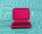 Pink Computer Adjustable Ring