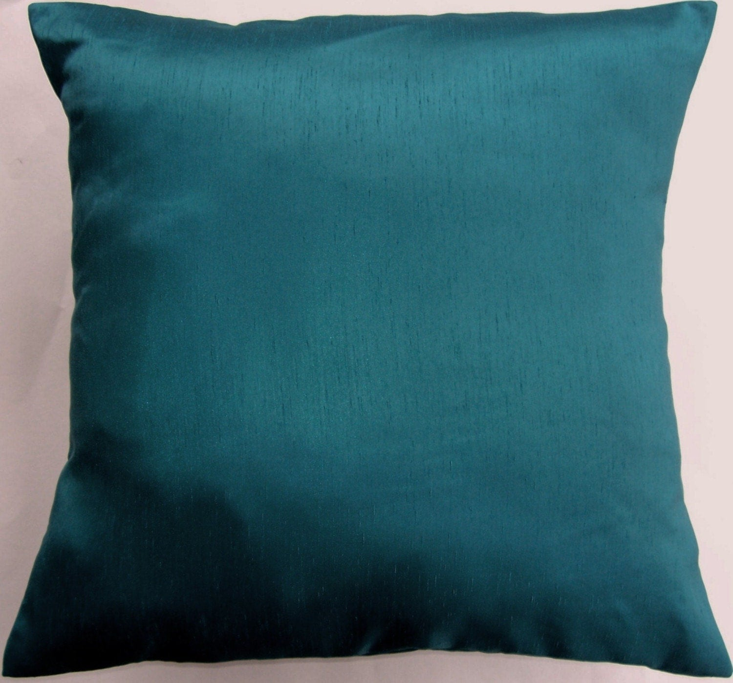 Throw Pillow Covers Teal : Dark Teal Pillow Cover