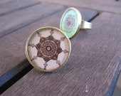 Earth Medallion Ring