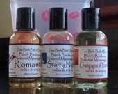 SHOW YOUR LOVE Lovers Massage Oil Trio