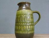Mid Century German Pottery Pitcher