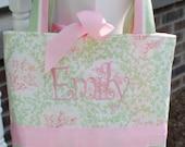 Girly Girl Bag AS IS -- Monogrammed Emily