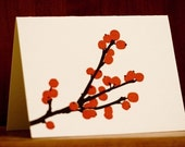 Berries Letterpress Card from Three Red Hens (1)