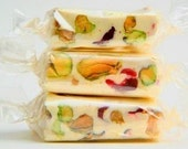 French Pistachio-Cranberry Nougat Candy - Soft - Featured on OutBlush.com
