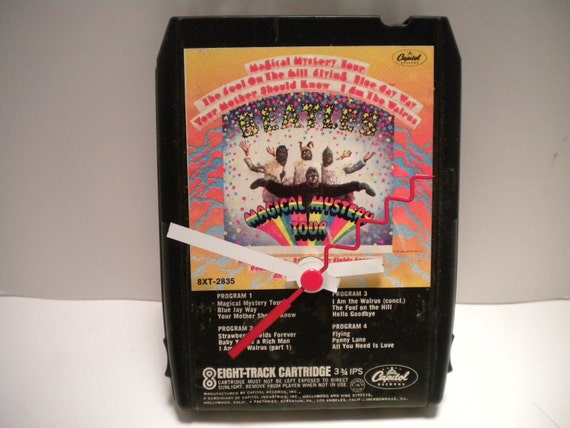 Beatles.....Magical Mystery Tour.... 8 Track Tape Clock