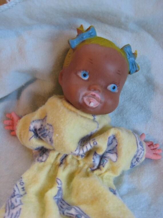 Vintage Bonnie Braids puppet 1950s