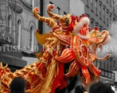 Dragon Dance (Set of Two Note Cards)