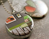 Take Time to Breathe - Recycled Magnetic LOCKET SET By Polarity