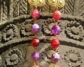TURKISH DELIGHT Tribal Goddess Earrings