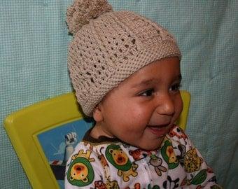 Baby Carousel Hat: PDF Crochet Pattern