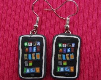 iPhone 6 dangly earrings