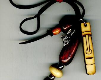 Tiki Necklace Pendant dangle
