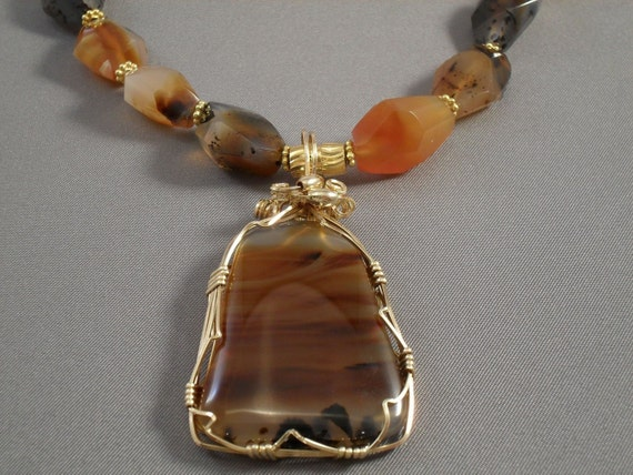 Montana Agate Necklace