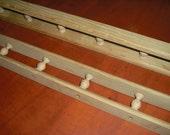 oak galley rail