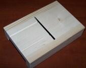 New wood wooden soap  bar loaf beveler / planer