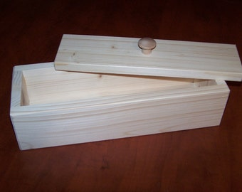 1 wooden soap mold to make 4-5 lb loaf