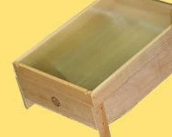 beekeeping bee hive Solar Wax Melter plans