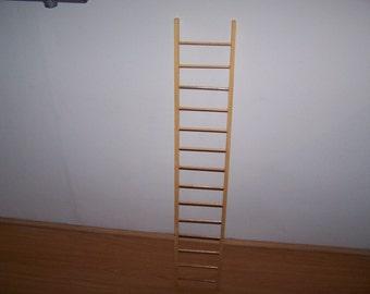 Wooden Pet Ladder 3 foot long bird /reptile/iguana