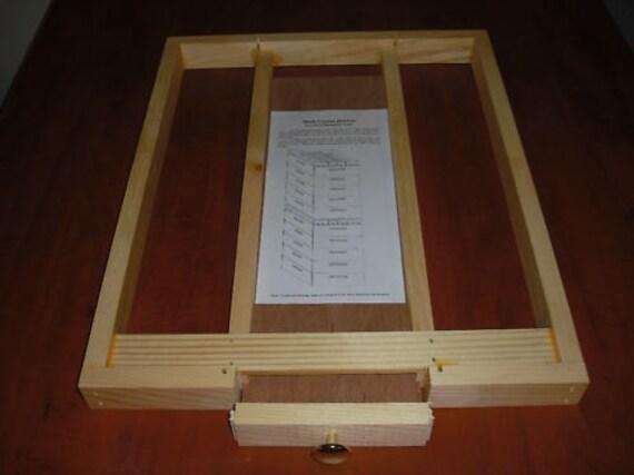Para moth drawer beekeeping beehive