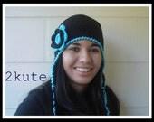 Crochet hat for adults, Womens earflap hat, Crochet earflap teen hat, hat for women, adult earflap hat, Women crochet winter caps