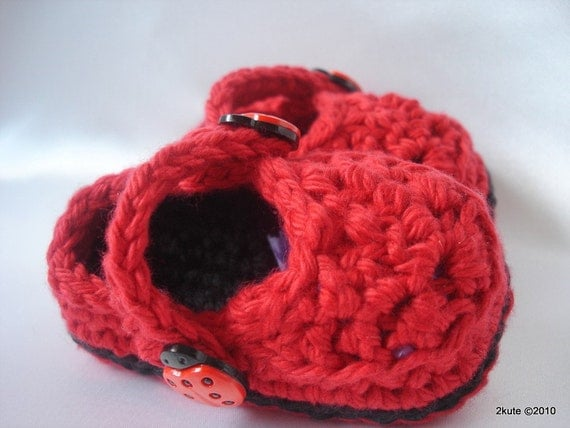 Baby Booties 3 to 6 mos Ready to ship