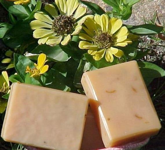 Carrot Calendula Natural Orange Color Unscented Soap