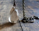 tears in a bottle necklace