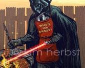 Darth Vader BBQ - POSTER