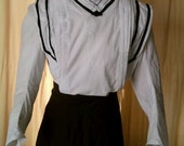 1904 - 1905 Edwardian blouse bodice- Made to Order Gibson Girl
