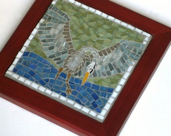 Almost Lunch,  Framed Mosaic Art