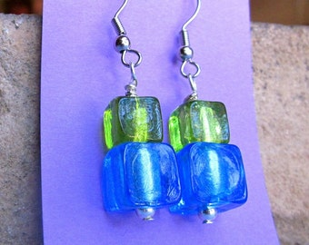 Cool Glass Bead Earrings