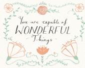 WONDERFUL THINGS Card