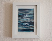 Adventure mini giclee print