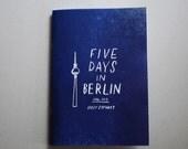 Five Days in Berlin travel diary zine