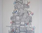 Nikolai Sutyagin's House (custom screenprints 1-5)