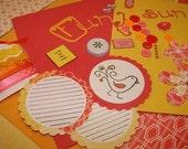 REDUCED    Citrus Paper Kit