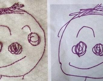 Custom Embroidered For You - The Original Children's Art Everlasting