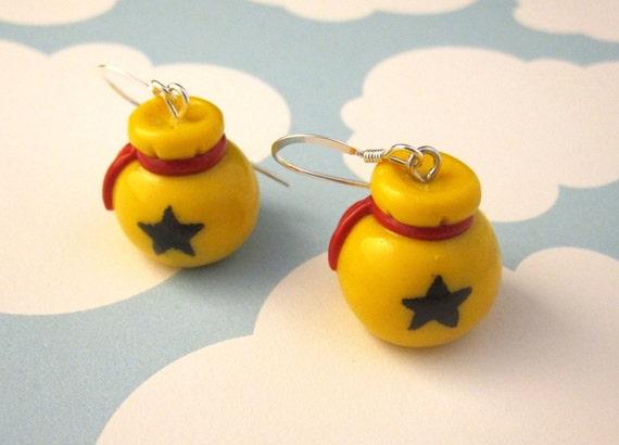 Animal Crossing Bell Bag Earrings