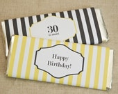 Chocolate Bar Wrappers - PRINTABLE only - Candy Bar Wrappers