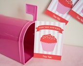 Valentine's Day Card - You're Sweet - cupcake - PRINTABLE only