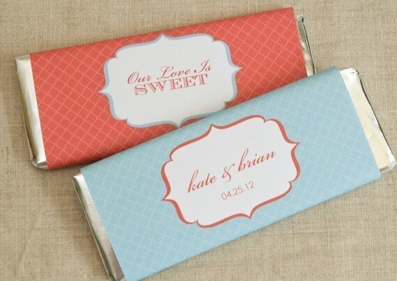 Candy Bar Wrappers - Chocolate Bar Wrappers - PRINTABLE only