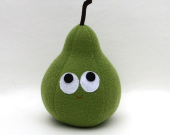 Bartlett Pear - Plush Food