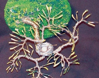 Bird Nest No.5 - Wire Sculpture